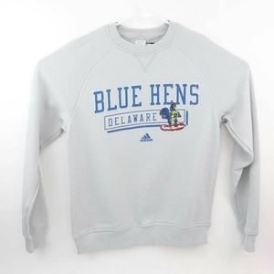 Delaware Fightin' Blue Hens Adidas Fleece Sweatshi